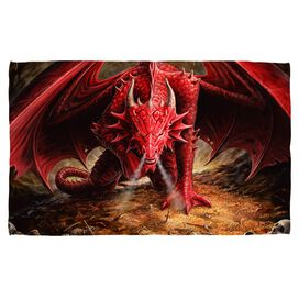 Anne Stokes Dragons Lair Face Hand Towel