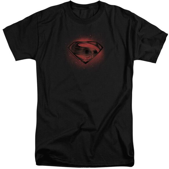 Man Of Steel Super Spray Short Sleeve Adult Tall T-Shirt