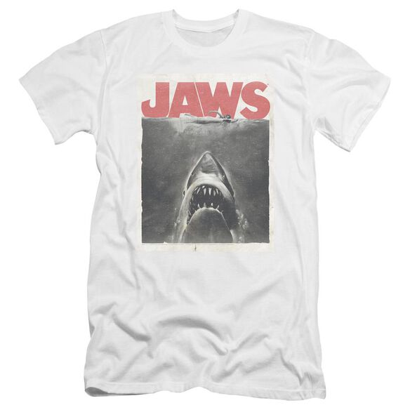 Jaws Classic Fear Premuim Canvas Adult Slim Fit