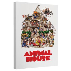 Animal House Poster Canvas Wall Art With Back Board