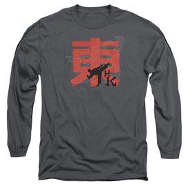 Hai Karate Hk Kick Long Sleeve Adult T-Shirt