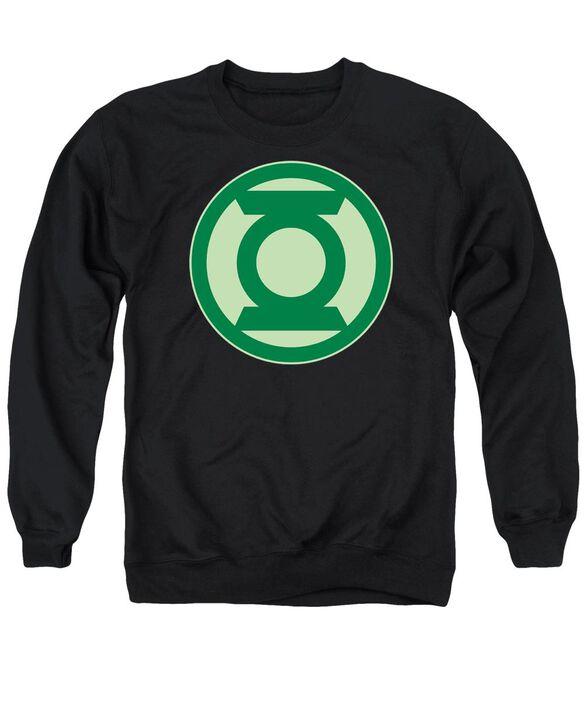 Green Lantern Green Symbol Adult Crewneck Sweatshirt