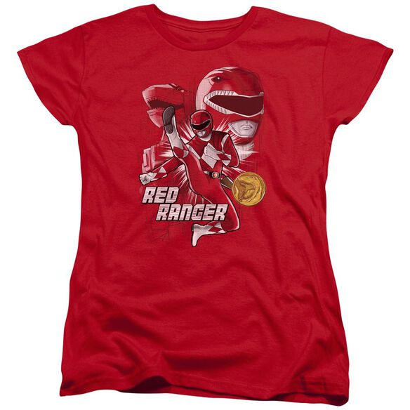 Power Rangers Ranger Short Sleeve Women's Tee T-Shirt