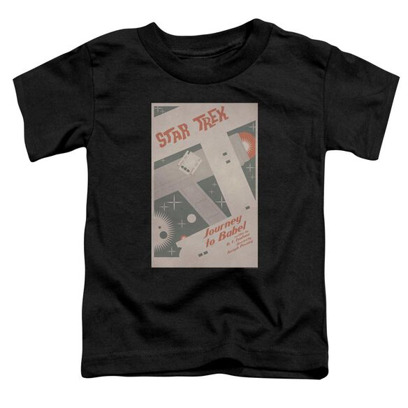 Star Trek Tos Episode 39 Short Sleeve Toddler Tee Black Sm T-Shirt