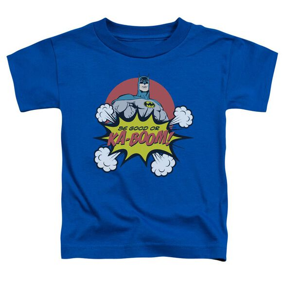 Dc Kaboom Short Sleeve Toddler Tee Royal Blue Lg T-Shirt