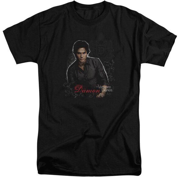 Vampire Diaries Damon Short Sleeve Adult Tall T-Shirt