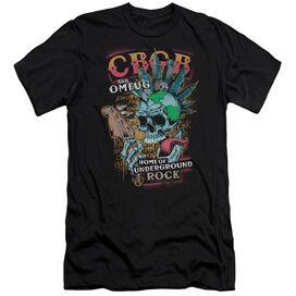 Cbgb City Mowhawk Short Sleeve Adult T-Shirt