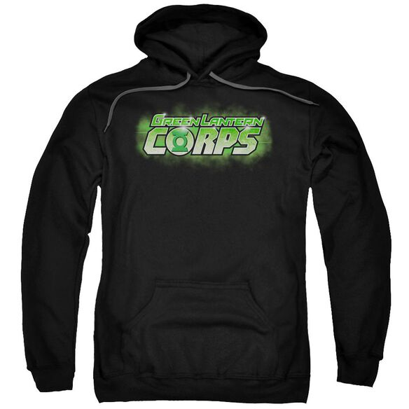 Green Lantern Gl Corps Title Adult Pull Over Hoodie