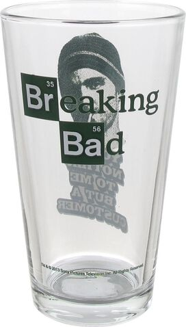 Breaking Bad But a Customer Pint Glass