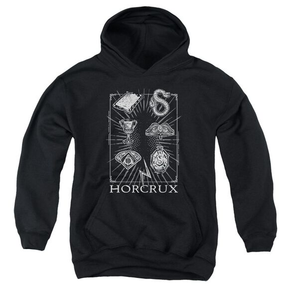Harry Potter Horcrux Symbols Youth Pull Over Hoodie