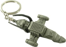 Firefly Ship Metal Keychain