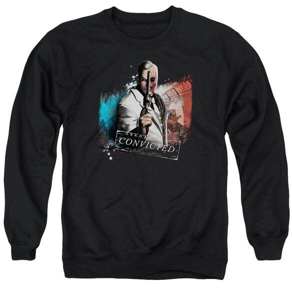 Arkham City Two Face Adult Crewneck Sweatshirt