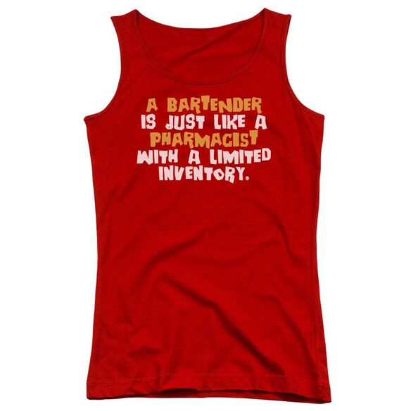 Bartender Pharmacist Juniors Tank Top