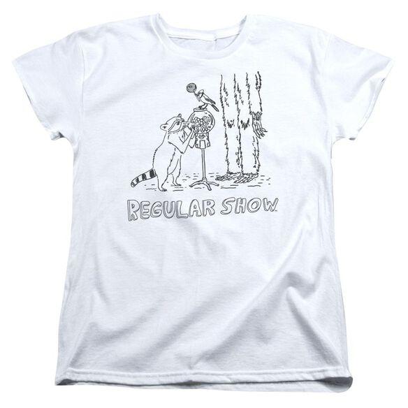 The Regular Show Tattoo Art Short Sleeve Womens Tee T-Shirt