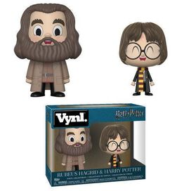Funko Vynl: Harry Potter Hagrid & Harry 2 Pack