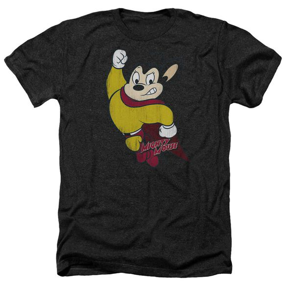 Mighty Mouse Classic Hero Adult Heather