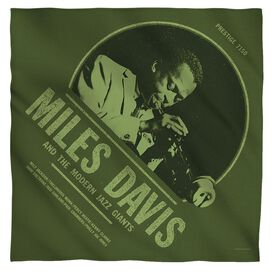 Miles Davis Green Miles Bandana