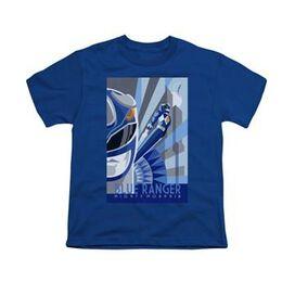 Power Rangers Blue Ranger Deco Youth T-Shirt