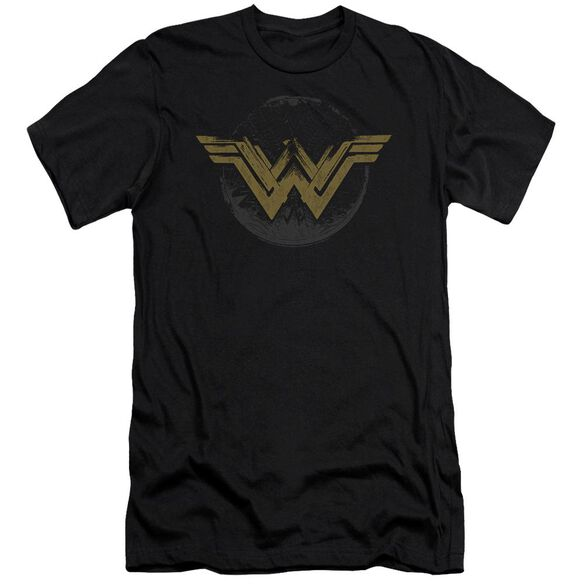 Wonder Woman Movie Distressed Logo Hbo Short Sleeve Adult T-Shirt