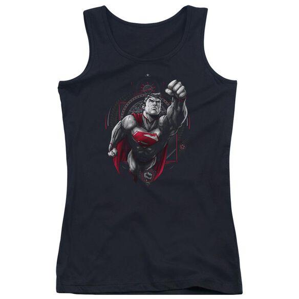 Superman Propaganda Superman Juniors Tank Top