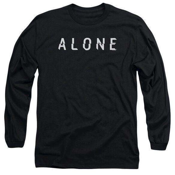Alone Alone Logo Long Sleeve Adult T-Shirt