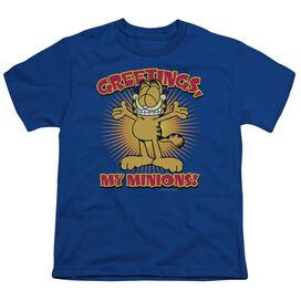 GARFIELD MINIONS - S/S YOUTH 18/1 - T-Shirt