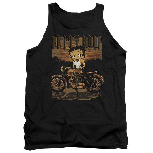 Betty Boop Rebel Rider Adult Tank