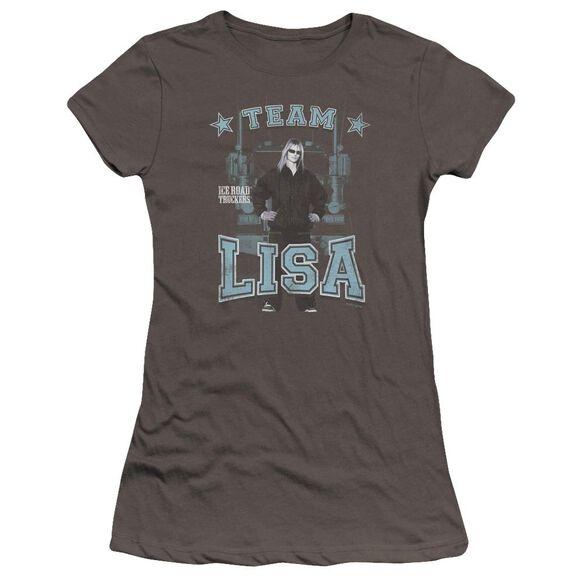 Ice Road Truckers Team Lisa Hbo Short Sleeve Junior Sheer T-Shirt