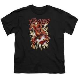 Jla Flash Glow Short Sleeve Youth T-Shirt