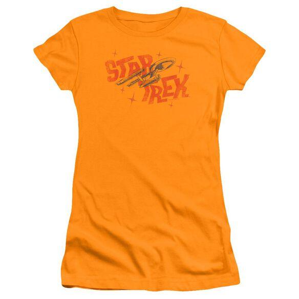 Star Trek Halftone Logo Premium Bella Junior Sheer Jersey