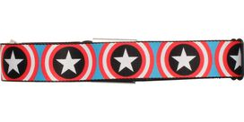 Captain America Shield Wrap Seatbelt Mesh Belt