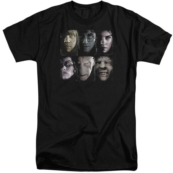 Harry Potter Horizontal Heads Short Sleeve Adult Tall T-Shirt
