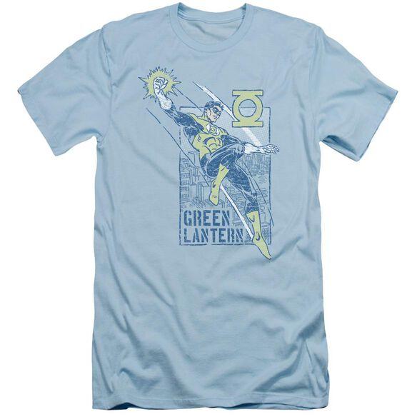 Green Lantern City Watch Short Sleeve Adult Light T-Shirt