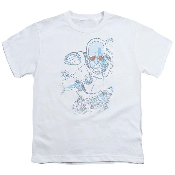 Batman Snowblind Freeze Short Sleeve Youth T-Shirt