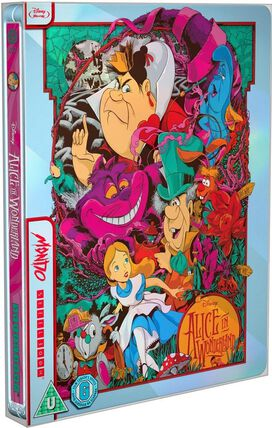 Alice In Wonderland [Limited Edition Blu-ray Mondo x Steelbook]