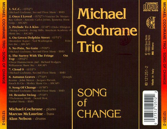 Song Of Change (Ita)