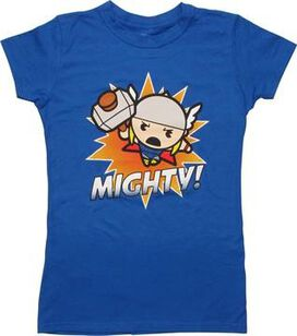 Thor Mighty Kawaii Juniors T-Shirt