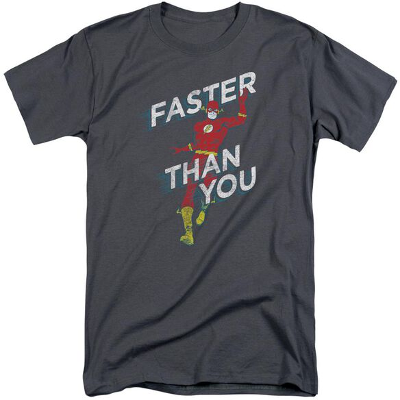 Dc Faster Than You Short Sleeve Adult Tall T-Shirt