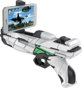 Revolvar Photon Super Blaster Augmented Reality 3D Gaming Gun