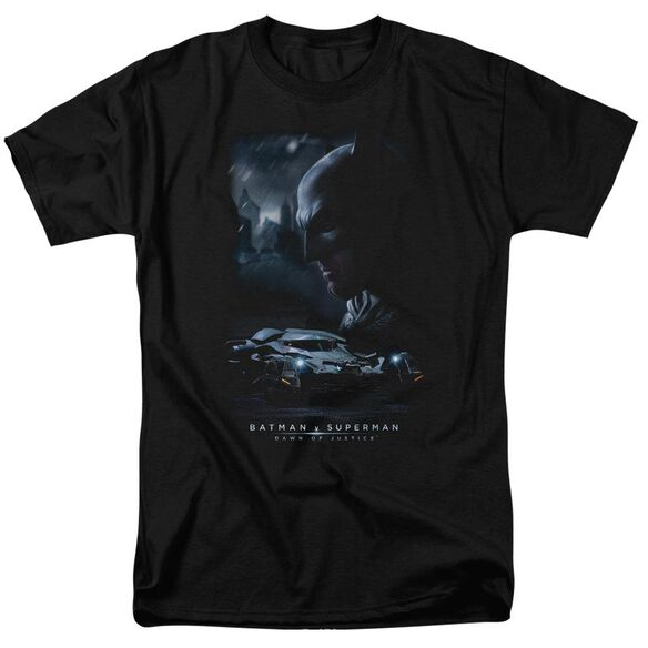 Batman V Superman Gotham Knight Short Sleeve Adult Black T-Shirt