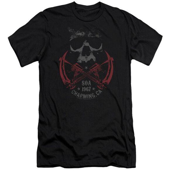 Sons Of Anarchy Cross Guns Premuim Canvas Adult Slim Fit