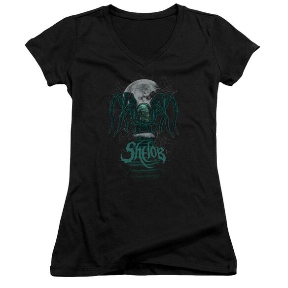 Lord Of The Rings Shelob Junior V Neck T-Shirt