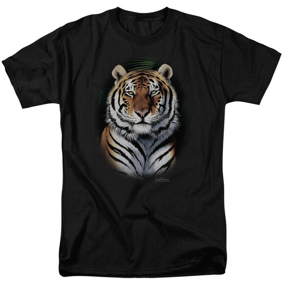 Wildlife Jungle Fire Short Sleeve Adult T-Shirt