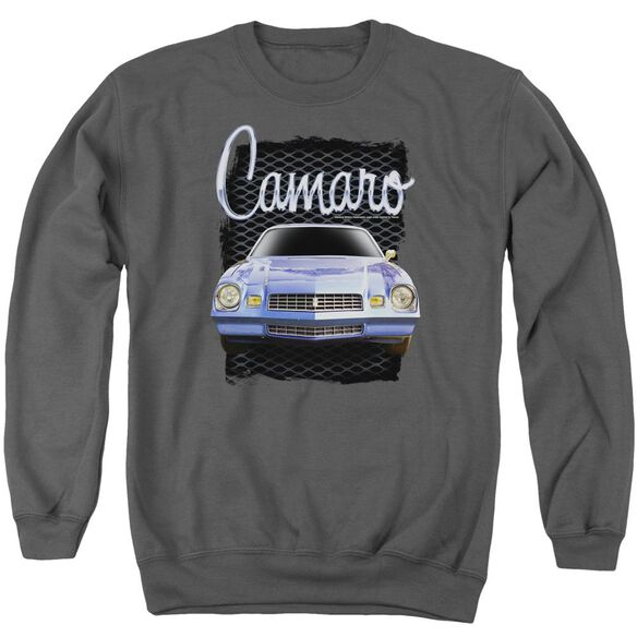 Chevrolet Yellow Camaro Adult Crewneck Sweatshirt