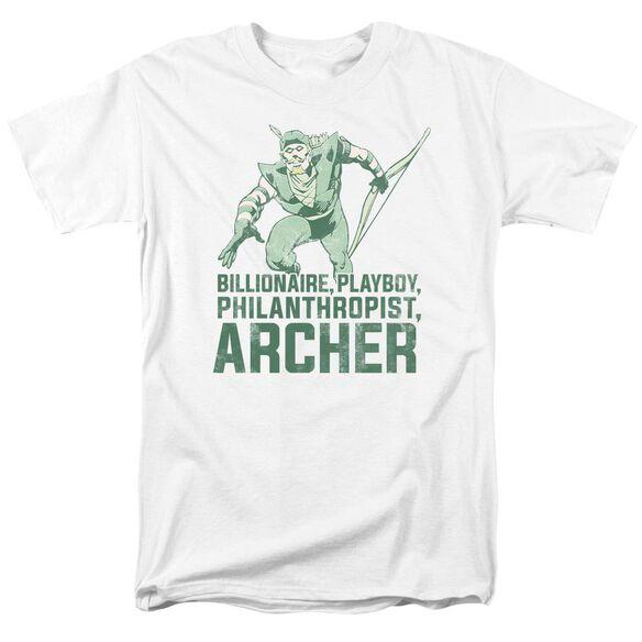 Dc Archer Short Sleeve Adult T-Shirt