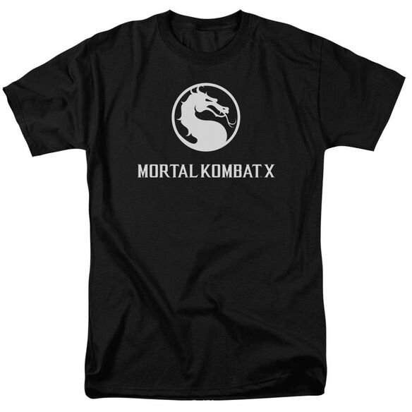 Mortal Kombat Dragon Logo Short Sleeve Adult T-Shirt