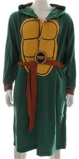 Ninja Turtles Costume Hooded Fleece Robe