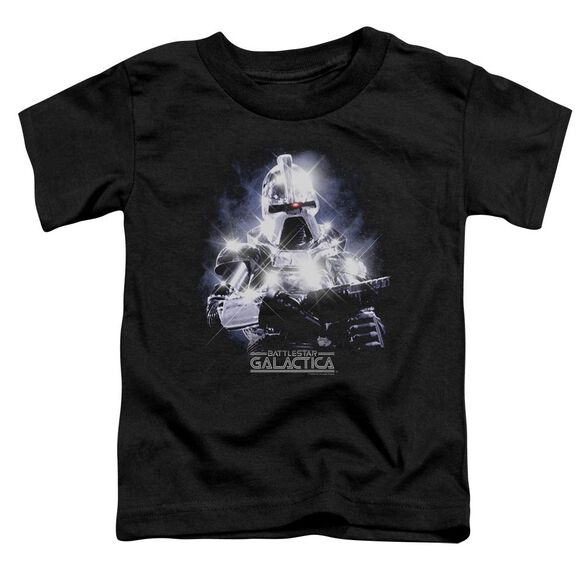Bsg 35 Th Anniversary Cylon Short Sleeve Toddler Tee Black T-Shirt