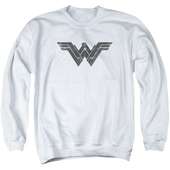 Batman V Superman Folded And Distressed Adult Crewneck Sweatshirt