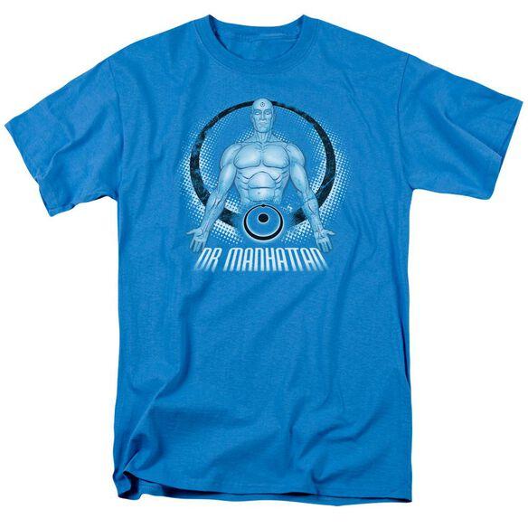 Watchmen Dr. Manhattan Short Sleeve Adult Turquoise T-Shirt